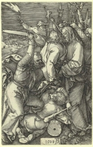 "Albrecht Dürer,""L'Arrestation du Christ"" (1508)"