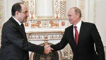 Le premier ministre irakien Nouri al-Maliki et le président russe Vladimir Poutine lors d'une visite à Moscou le 10 octobre 2012 (photo : RIA Novosti/Alexei Nikolskiy