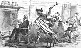 Le massacre de Marcus et Narcissa Whitman, premiers missionnaires évangéliques dans l'Oregon country, ainsi que treize autres membres de la colonie, par des indiens Cayuse est souvent présenté comme la conséquence du choc des cultures et de la volonté des pionniers de la mission d'imposer aux paiens de nouvelles croyances. L'événement déclencheur de la tuerie aurait été une épidémie de rougeole qui fit davantage de morts chez les Indiens, moins immunisés que les colons blancs. M. Whitman fut soupçonné de soigner surtout les blancs et de laisser mourir les enfants indiens. La rancoeur et la paranoïa arrivèrent à leur paroxysme le e 29 novembre 1847