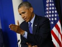 """Barack Obama, un leader dans l'embarras depuis qu'il est rattrapé par la situation en Irak, rejette la responsabilité sur les Irakiens. Lors de sa dernière conférence de presse sur l'Irak, le président s'est remarquablement contredit, à la surprise de son auditoire. À la question d'un journaliste qui lui demandait s'il regrettait de ne pas avoir laissé une force résiduelle en Irak en 2011, l'intéressé a répondu : """"eh bien, gardez à l'esprit que je n'ai pas pris cette décision, elle fut prise par le gouvernement irakien"""". Pourtant, en 2012, le président s'attribuait encore le mérite de cette décision et l'assumait même ouvertement face à son adversaire Mitt Romney au cours d'un débat télévisé. Lorsque son adversaire lui demanda, juste après une phrase du président sortant dont il fut manifestement troublé : """"Oh, vous ne vouliez donc pas un accord sur le statut [d'immunité juridique] des forces en Irak? [nb : condition du maintien d'une force résiduelle en Irak], B.Obama lui répondit :""""Non, je n'aurais pas laissé 10 000 hommes là-bas, cela nous aurait liés et ne nous aurait certainement pas aidé au Moyen-Orient"""". B. Obama est dans l'embarras depuis que la situation en Irak le rattrape. Lors d'un point presse organisé le 19 juin 2014 au cours duquel il a exposé son plan pour l'Irak, le président s'est remarquablement contredit, à la grande stupéfaction de son auditoire. À un journaliste qui lui a demandé s'il regrettait de ne pas avoir laissé une force résiduelle en Irak en 2011, l'intéressé a répondu : """"eh bien, gardez à l'esprit que je n'ai pas pris cette décision, elle fut prise par le gouvernement irakien"""". Pourtant, en 2012, le président laissait encore entendre un autre son de cloche, s'attribuant le mérite de cette décision. Quand, au cours d'un débat, son adversaire républicain Mitt Romney lui demanda (suite à une phrase du président sortant qui le troubla manifestement) : """"Oh, vous ne vouliez donc pas un accord sur le statut des forces en Irak? [nb : ce statut"""