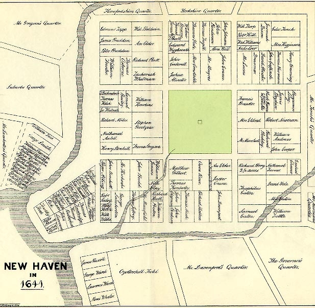 Cette Carte De La Colonie New Haven Montre Jusquo Pouvait Mener Fantasmagorie