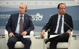 Hollande-Poutine G20 2013