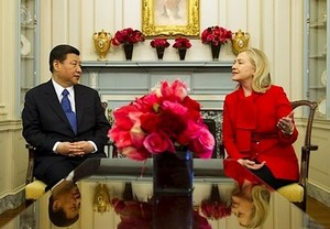 US-CHINA-DIPLOMACY-BIDEN-XI JINPING-CLINTON